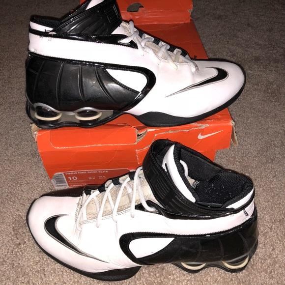 0de8be771f6640 Women s Nike Shox Elite Basketball Shoes Size 10